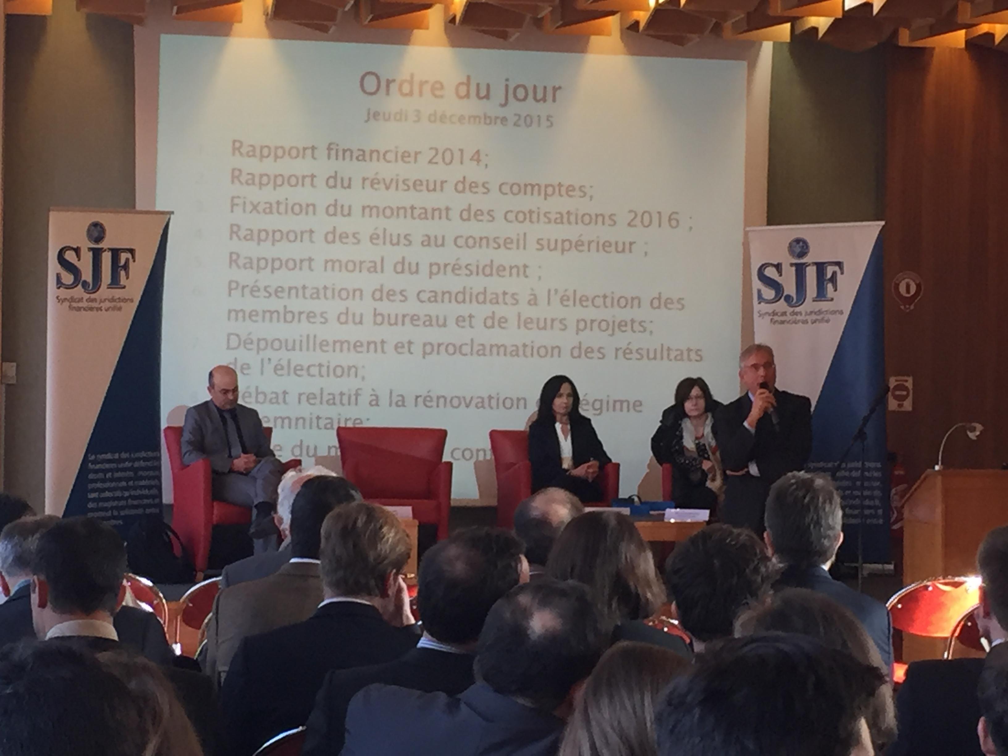 Ordre du jour du congrès du SJFu à Lyon