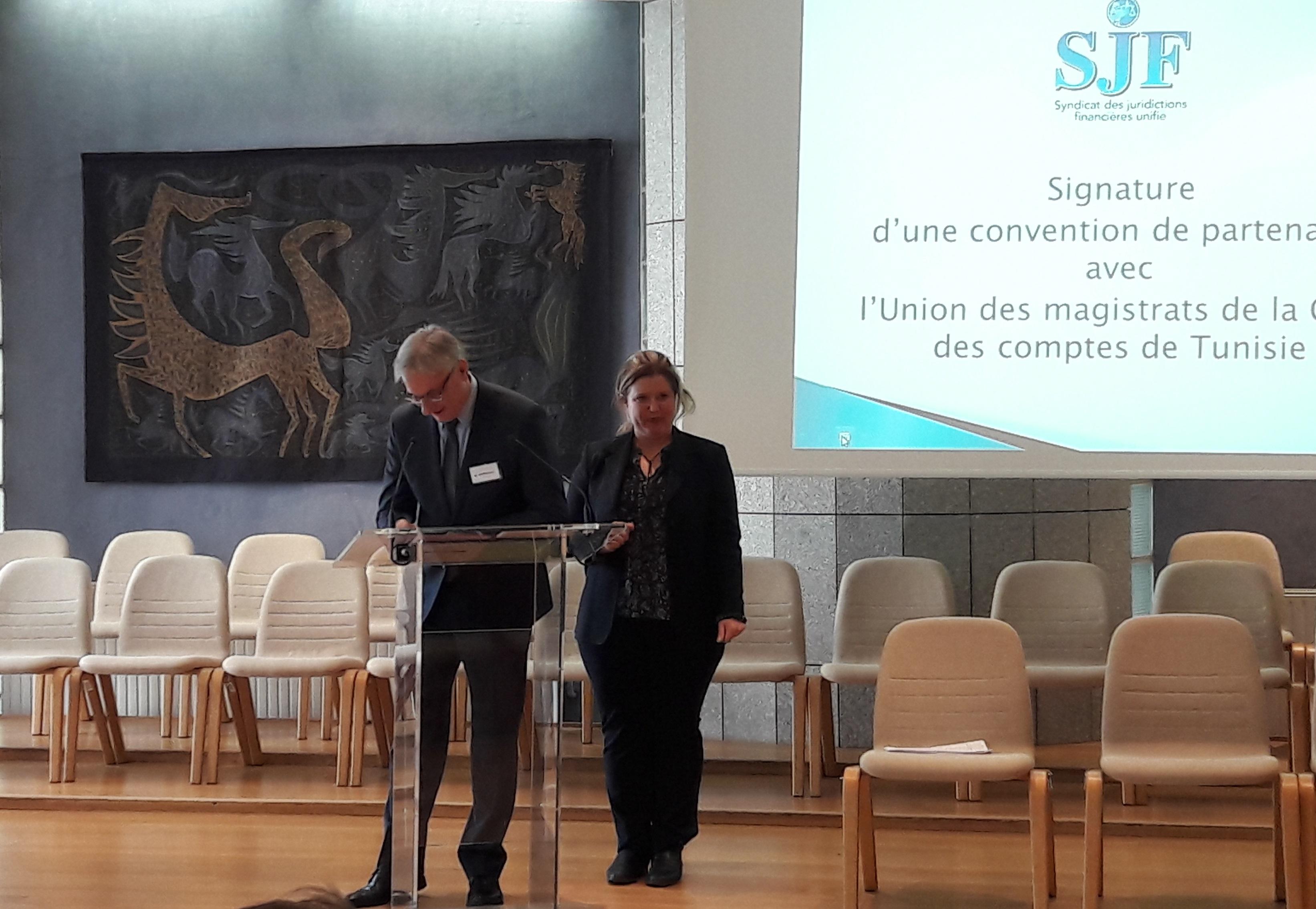 Signature de la convention de partenariat UMCC - SJFu